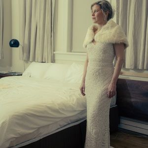 Vintage inspired, Old-Hollywood Wedding gown